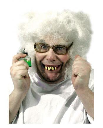 Crazy Professor teeth