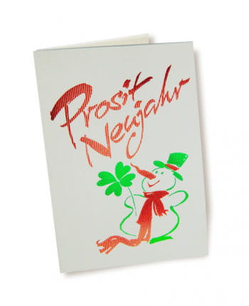 Prosit Neujahr (Happy New Year) Card 10 PCS
