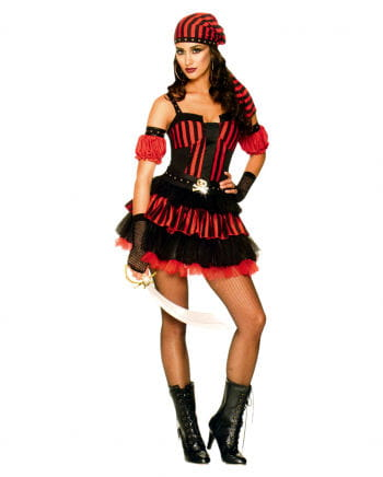 Punk Pirate Red Black