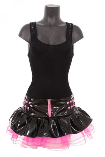 Cybergoth miniskirt