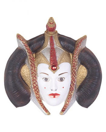 Queen Amidala PVC mask