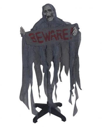 Reaper standing figure gray