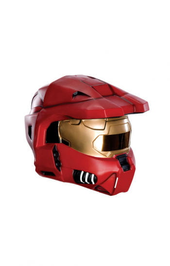 Red Spartan Helmet