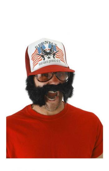 Redneck Cap mit Bart