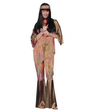 Rainbow Hippie Costume