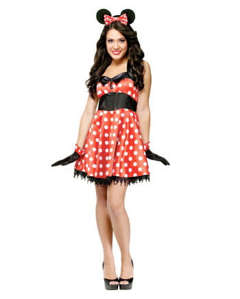 Retro Mouse Costume S/M 36-38