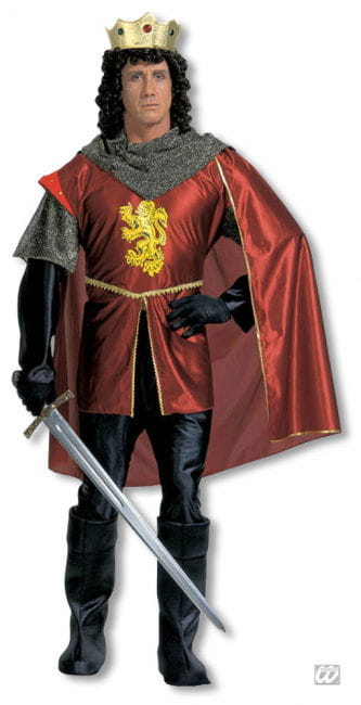 Richard the Lionheart Costume Xtra Large