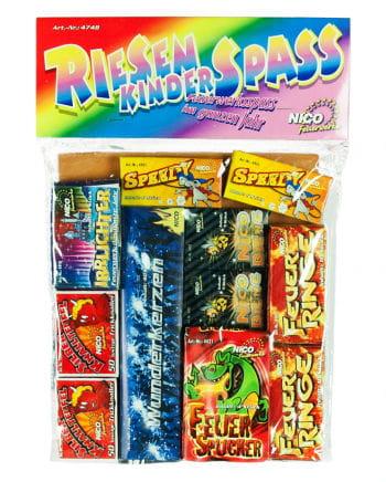 Riesen Kinder Spaß - Feuerwerk Set