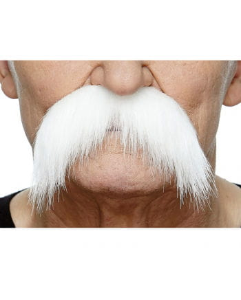 Giant Moustache White