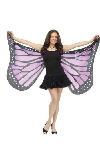 Riesige Schmetterlingsflügel lila