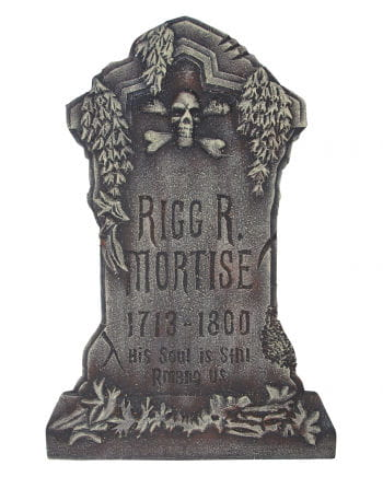Rigg R. Mortise Grabstein
