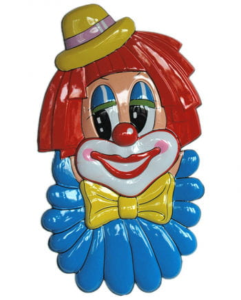 Riesige Clown Wanddeko
