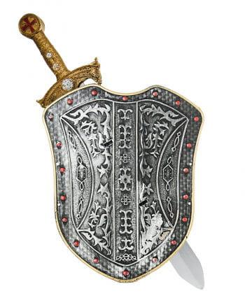 Ritter Schwert mit Schild
