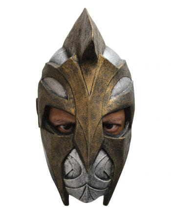 Spartan helmet as a mask