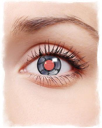 Roboter Augen Kontaktlinsen