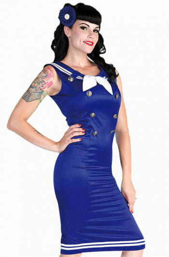 Matrosen Pin-up Kleid S S / 36