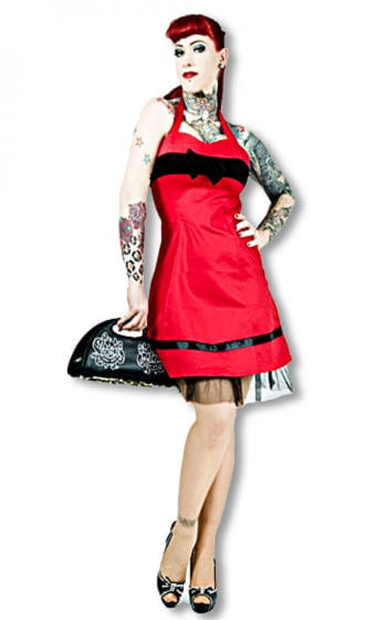 50s Dress Red