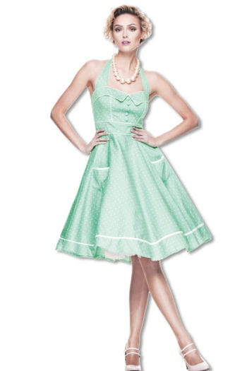 Rockabilly Petticoat Dress Mint