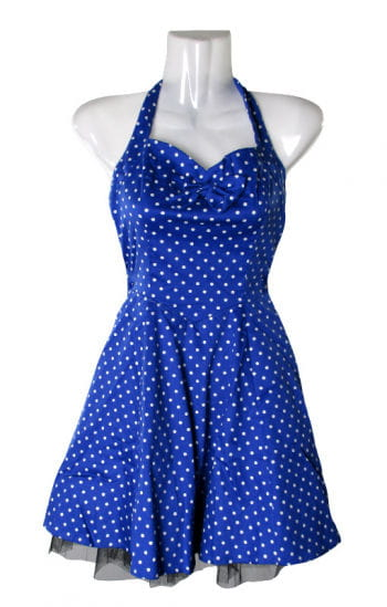 Polka Dot Petticoat blue