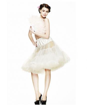 Knielanger Petticoat beige