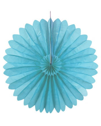 Rosette compartments light blue 60 cm