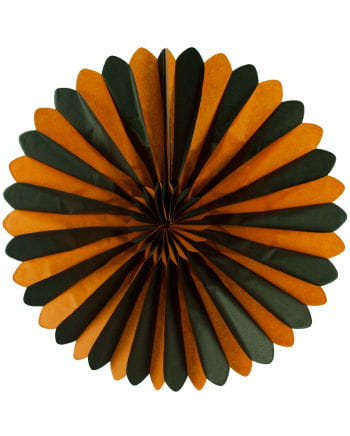 Rosette compartments orange / black 60cm