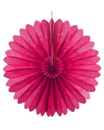 Rosettenfächer pink 60 cm