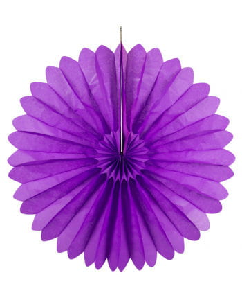 Rosette pockets purple 60 cm