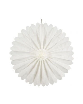 Rosette compartments white 35 cm