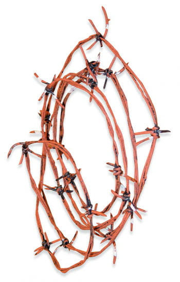 Rusty barbed wire 3.6m