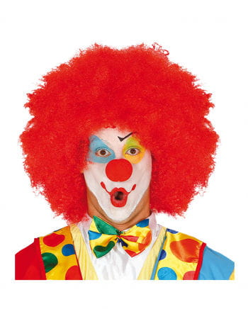Red Afro Wig Clown