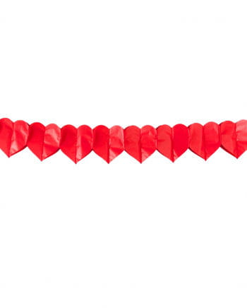 Red Heart Garland
