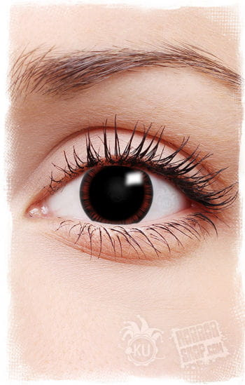 Manga Contact Lenses Red