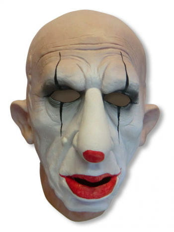 Saddy the Clown Foamlatex mask