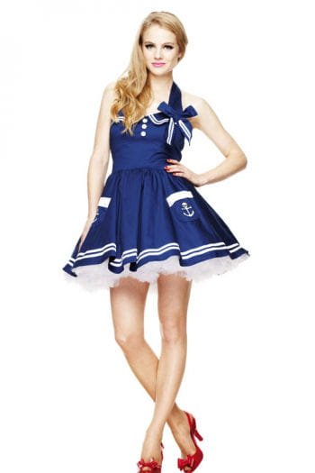 Sailor Mini Dress Blue