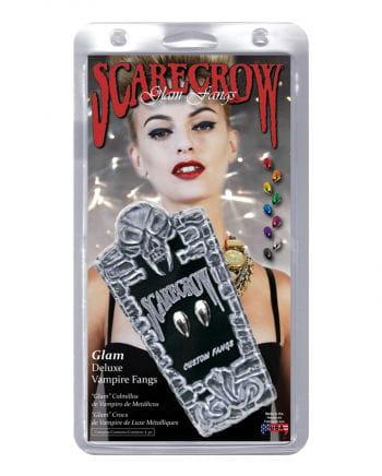 Scarecrow Vampirzähne Metallic