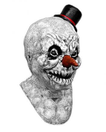 Scary Schneemann Maske aus Latex