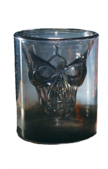 Skull Smoke Glass Shot Glass