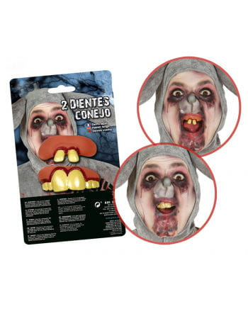 Weird Rabbit teeth 2er Pack
