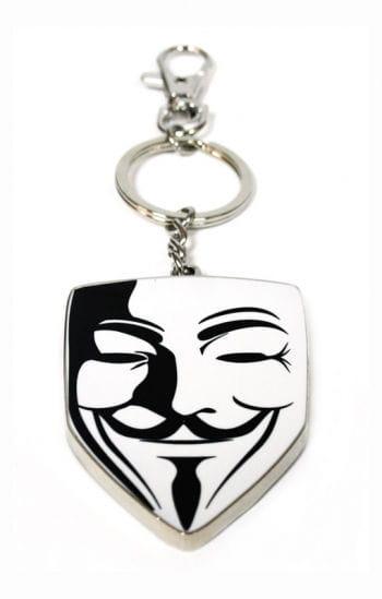 Schlüsselanhänger Vendetta Maske