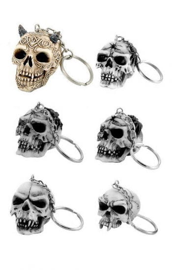 Key Ring Celtic Skull