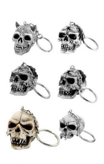 Key Ring Skull