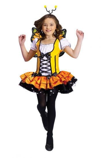 Schmetterling Kostüm gelb