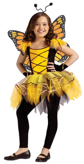 Butterfly Ballerina Yellow