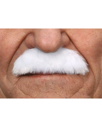 Mustache Albert White