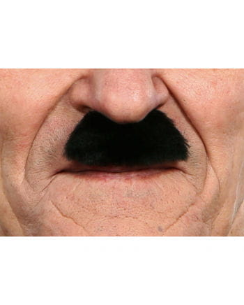 Schnurrbart Charlie Schwarz