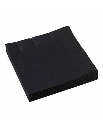 Paper Napkins Black 20 PCS