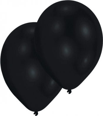 Schwarze Luftballons 50 St.