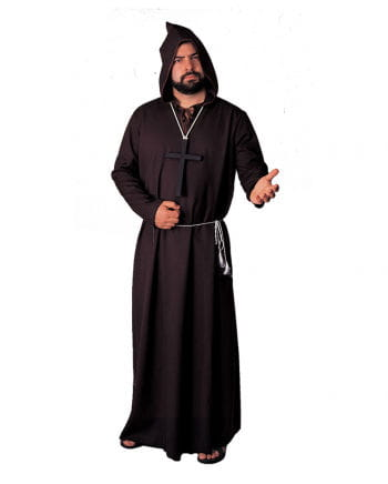 Black monk`s robe Deluxe