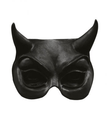 Devil Half Mask black